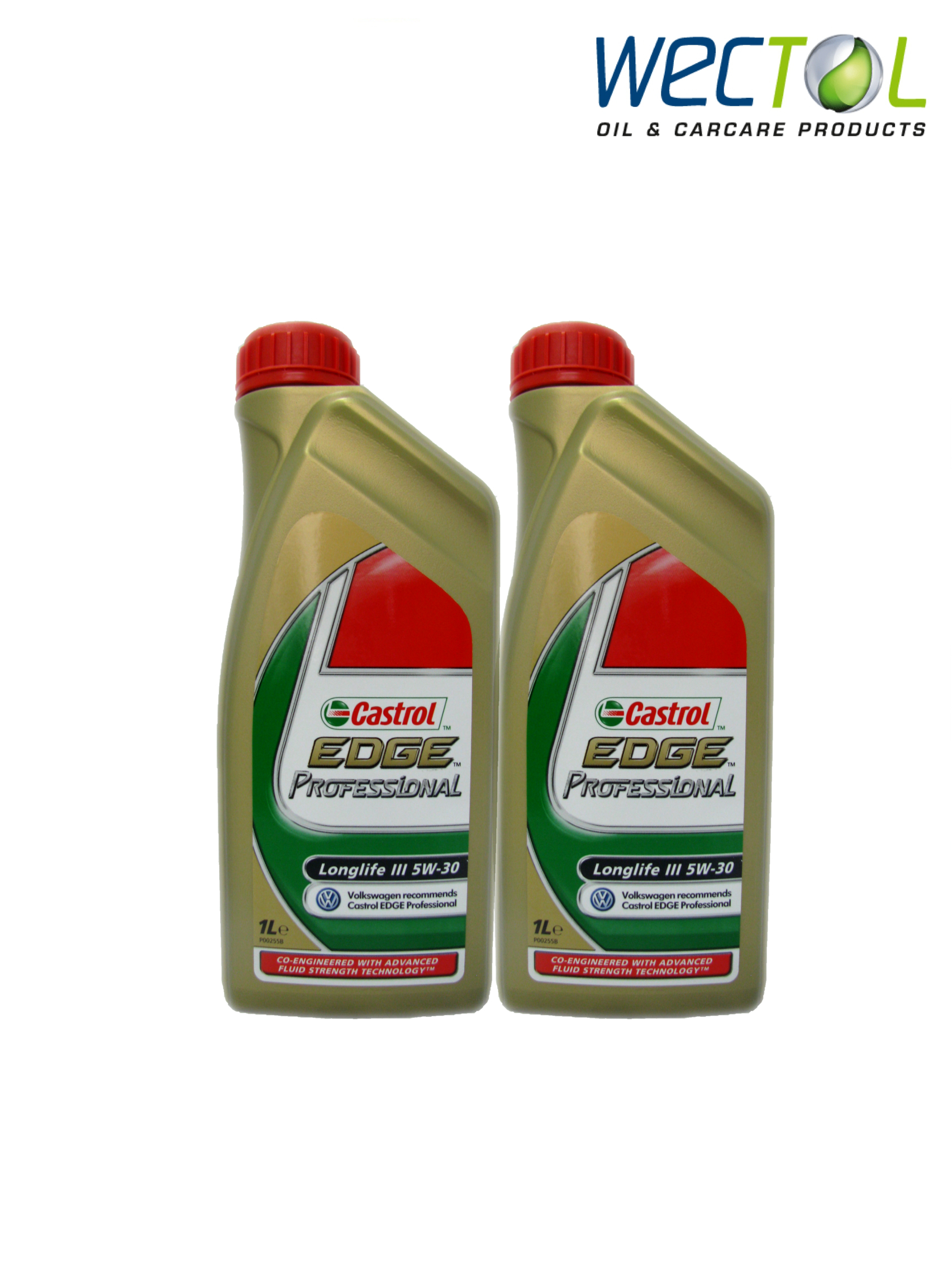 2x1 liter castrol edge professional longlife iii 5w30 audi. Black Bedroom Furniture Sets. Home Design Ideas