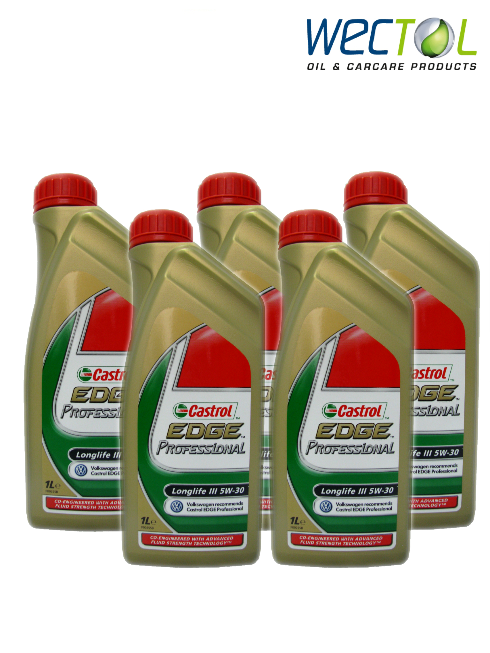 5x1 liter castrol edge professional longlife iii 5w30 audi. Black Bedroom Furniture Sets. Home Design Ideas