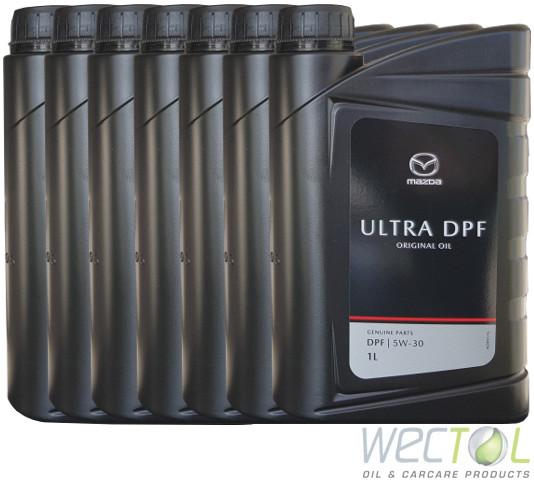 1 12 l mazda original oil ultra dpf 5w 30 motor l fr her. Black Bedroom Furniture Sets. Home Design Ideas